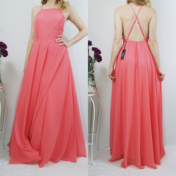 fd5ebc9f964 Lulus Mythical Kind of Love Coral Pink Maxi Dress